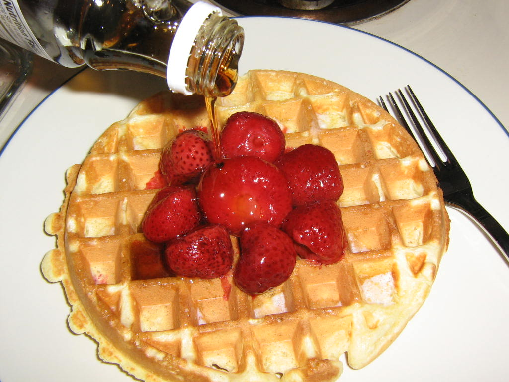 Old-Fashioned Waffles